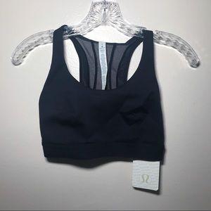 Lululemon blue bra. NWT. Size 6 (fits like 4).